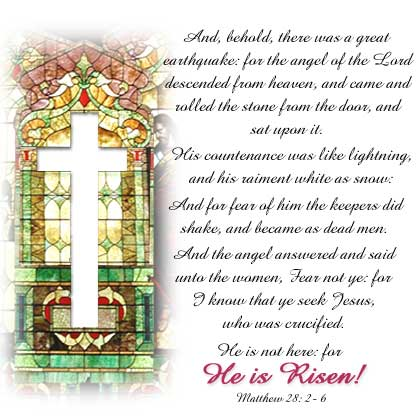 Easter Picture with Text